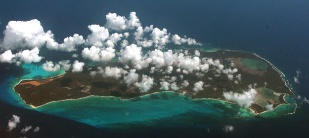 Rum Cay Island.