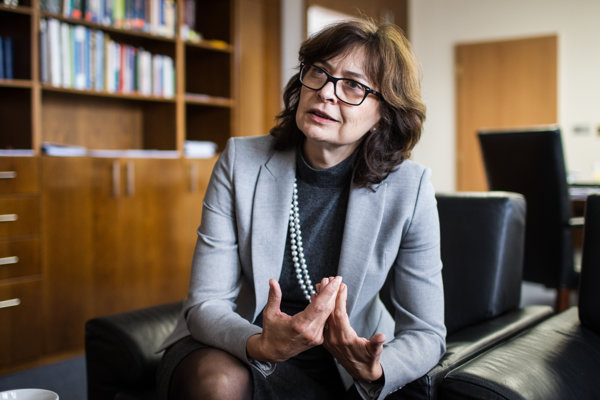 Ministerka spravodlivosti Lucia Žitňanská.