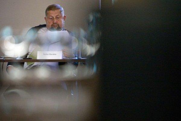 Predseda Súdnej rady a Najvyššieho súdu Štefan Harabin.