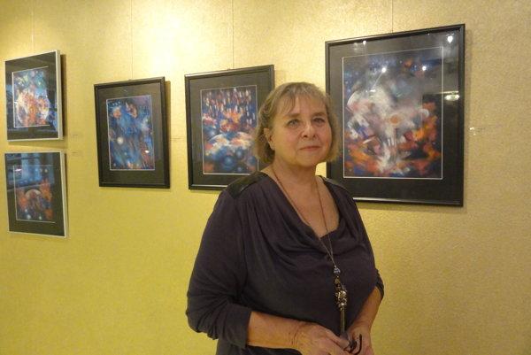Eva Bachratá Linhartová a jej diela inšpirované Cirque de Soleil.
