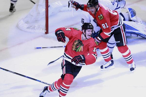 Richard Pánik je najlepším strelcom NHL.