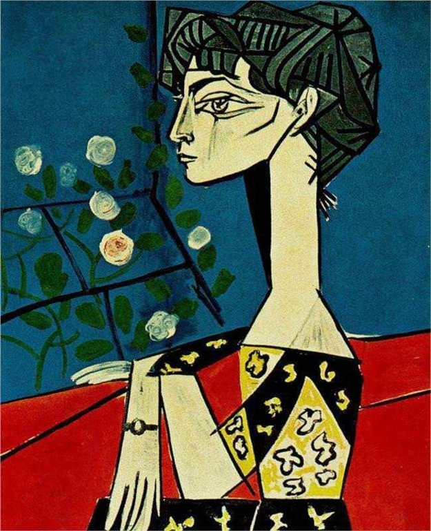 Jacqueline s kvetmi, 1954