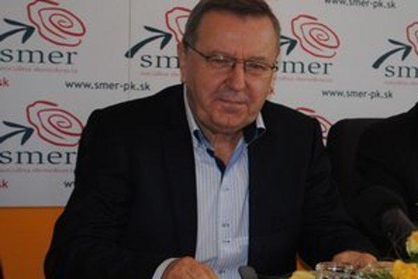Krajský šéf Smeru Stanislav Kubánek.