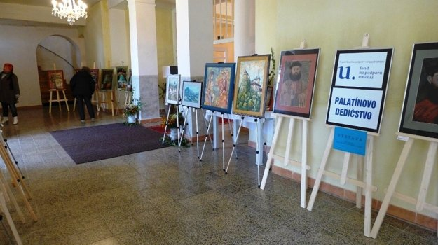 Výstavu Palatínovo dedičstvo si do konca októbra môžu návštevníci pozrieť v Evanjelickom kostole v Necpaloch.