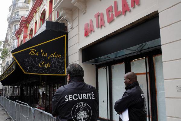 Parížsky klub Bataclan.