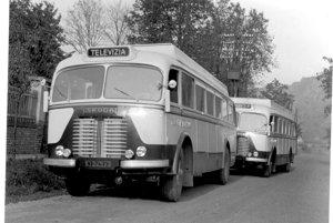 Staré prenosové vozy.
