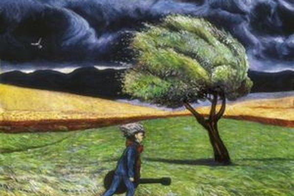 Aj tenop obraz namaľoval Karel Gott.