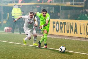 Filip Hlohovský (v zelenom) má vynikajúcu formu.