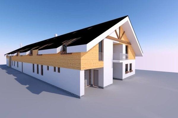 Takto by mal vyzerať nový Dom sociálnych služieb.