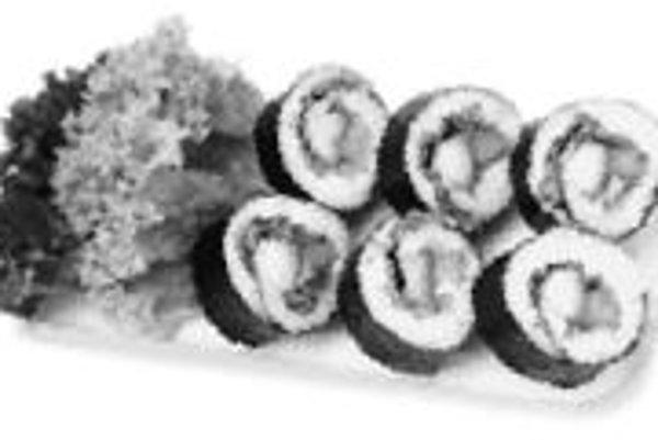 Morské riasy sa ešte v našej kuchyni neetablovali. Sú však bohatým zdrojom jódu, preto by si pochúťky japonskej kuchyne mali obľúbiť ľudia s problémami štítnej žľazy. ILUSTRAČNÉ