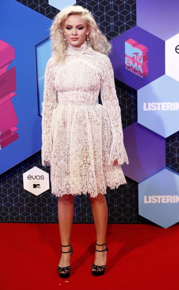 Speváčka Zara Larsson.