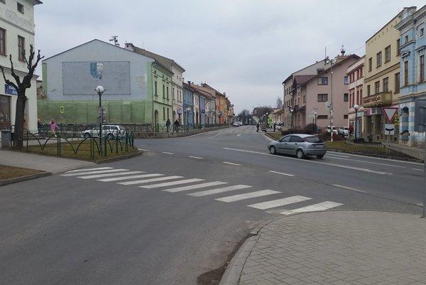 Križovatka v Spišskej Belej.