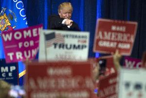 Budúci prezident Donald Trump.