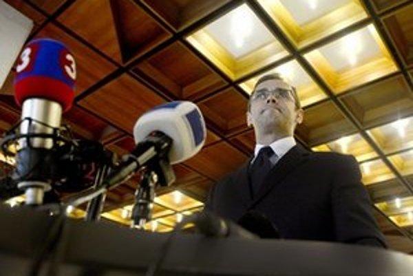 Predseda Osobitného kontrolného výboru na kontrolu činnosti Vojenského spravodajstva Martin Fedor.