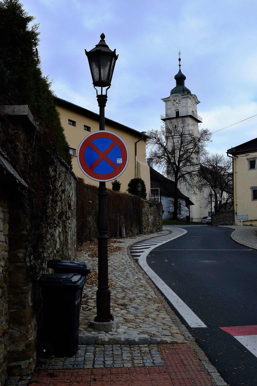 Na snímke vstup do Spišskej Soboty v pozadí veža Kostola svätého Juraja.