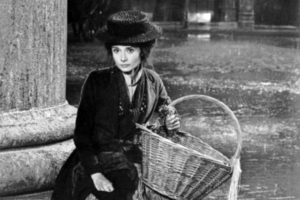 Vo filmovej verzii My Fair Lady si zahrala Audrey Hepburn