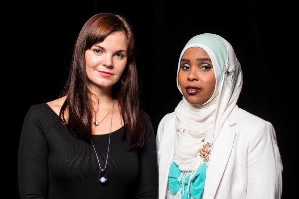 Emília Trepáčová a Khadra Abdile.