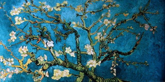Medzi publikovanými kresbami sú skice, ktoré predchádzali najslávnejším maliarovym obrazom. Napríklad Zakvitnutý mandľovník.