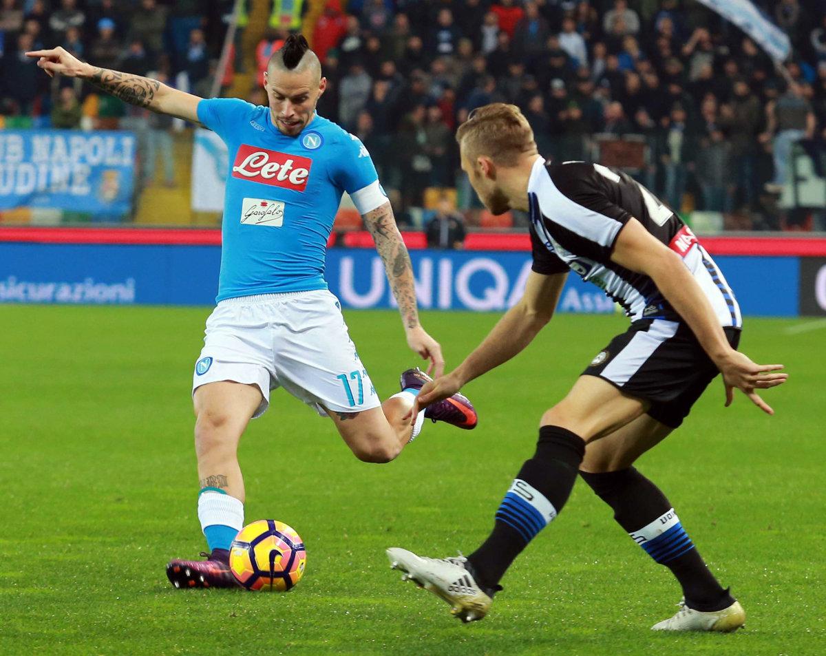 8904c1ad93 Marek Hamšík v zápase proti Udinese.