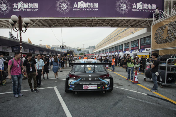 Maťo Homola skončil na pretekoch v Macau na 5. mieste.