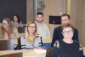 V popredí víťazka Katarína Kiselová z Trebišova.