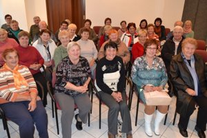 Podujatie zorganizovali pri príležitosti Mesiaca úcty kstarším.