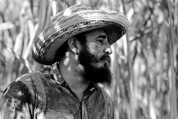 Fidel Castro na fotke z roku 1966.