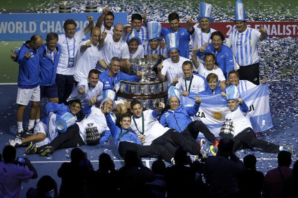 Argentína prvý raz v histórii vyhrala Davis Cup.