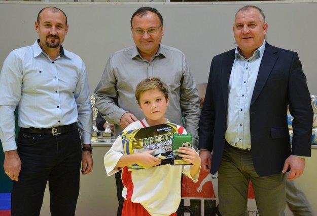Za najlepšieho hráča bol vyhlásený Maurício Petrík (TJ Slovan Preseľany).