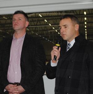 Ján Kentoš (vpravo) považuje výpoveď za východisko.