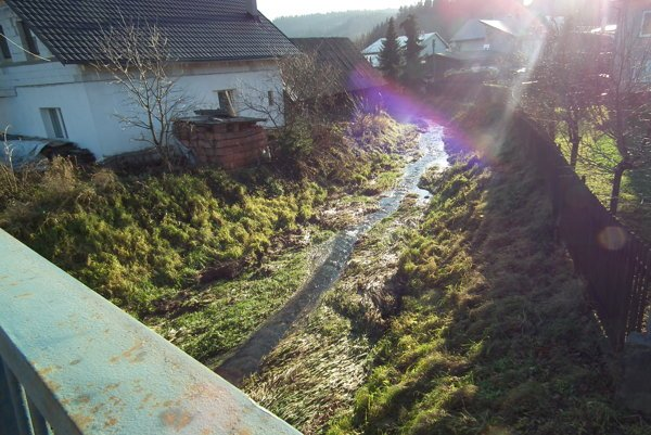 Soľný potok nevyzerá, že by sa mohol niekedy vyliať, ale opak je pravdou.