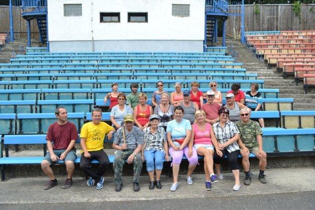 Na obnovu amfiteátra sa už vlani podujali dobrovoľníci.