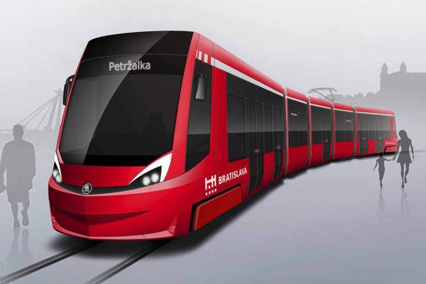 Škoda Transportation dodávala električky aj pre Bratislavu.