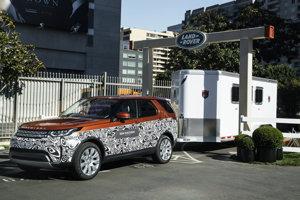 Nové Land Rover Discovery, ktoré sa bude vyrábať pri Nitre.