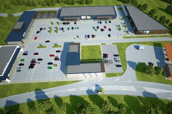 Hlavným impulzom pre projekt D2 Centrum je rast dopravy a nedostatok servisných plôch.