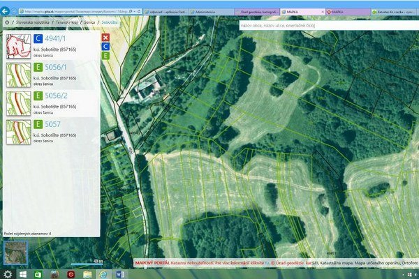 Základnou podmienkou možnosti zobrazenia všetkých pozemkov katastra bolo zabezpečiť údaje v podobe vektorových katastrálnych máp, ktoré súvisle pokrývajú celé územie SR. Po dvoch rokoch digitalizácie katastrálnych máp (bolo treba zdigitalizovať zvyšnú štv