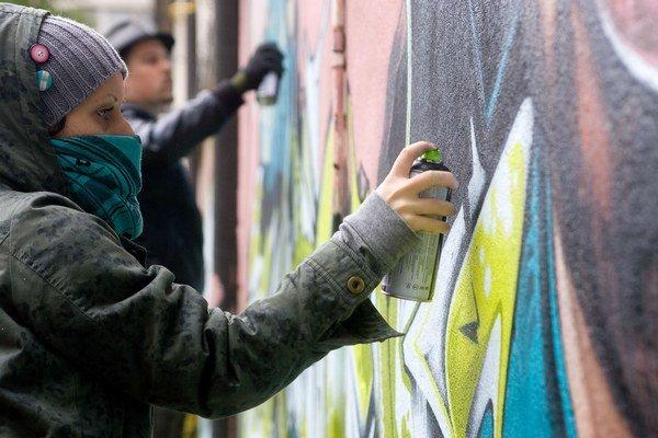 Financie je možné použiť nielen na samotné odstránenie graffity, ale napríklad aj na antigrafitový náter.