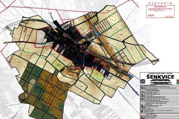 Územný plán obce Šenkvice možno nájsť na webe.