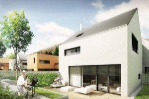 V nasledujúcej etape rodinné domy doplní dvojpodlažná bytovka a viacbytový rodinný dom.