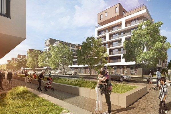 Budúci obyvatelia môžu sledovať postup stavebných prác v reálnom čase na webe.