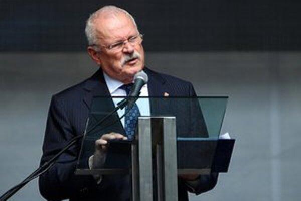 Slovenský prezident Ivan Gašparovič.