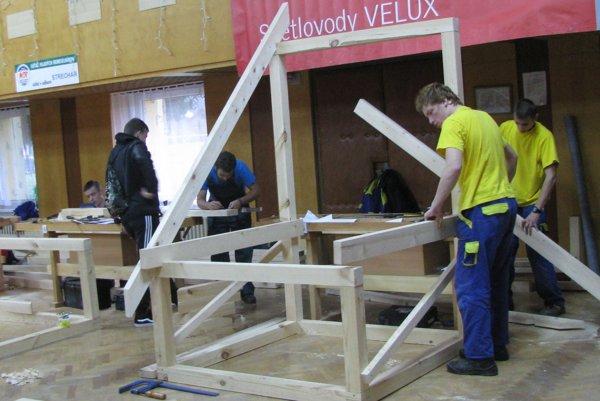 Žiaci svojou profesionálnou prácou opäť potvrdili, že patria na Slovensku v stavbárskej remeselnej práci medzi tých najlepších.