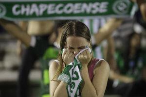 Fanúšikovia Chapecoense prišli o svojich milovaných futbalistov.