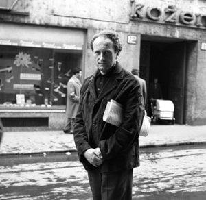 Hudobný skladateľ Tibor Andrašovan v roku 1965.