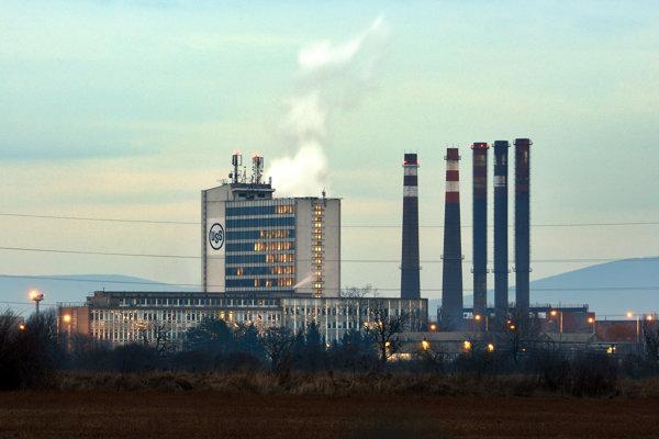 Závod U. S. Steel v Košiciach.
