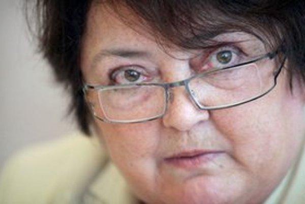 Šéfka Štatistického úradu Ľudmila Benkovičová.