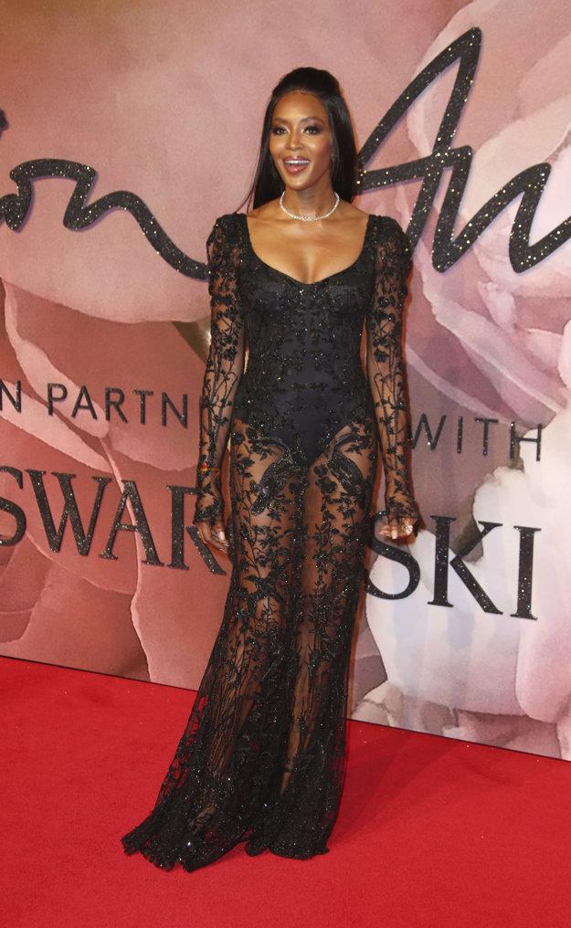 Naomi Campbell.