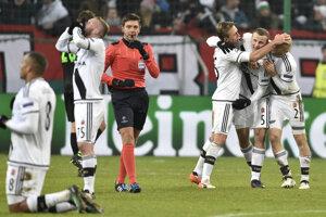 Futbalisti Legie Varšava dosiahli veľký úspech.
