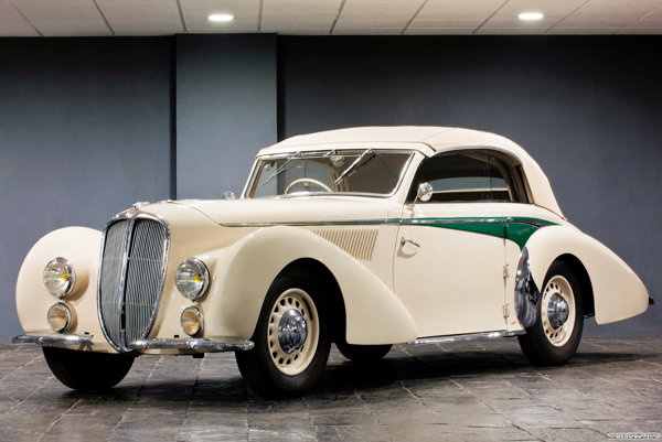 1938 Delahaye 135M cabriolet Langentha
