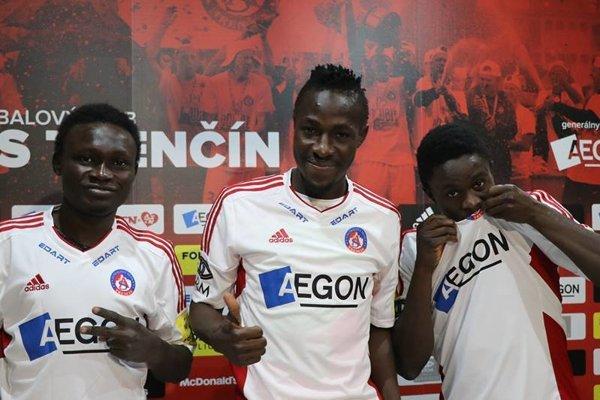 Trenčín posilnilo trio z Nigérie.
